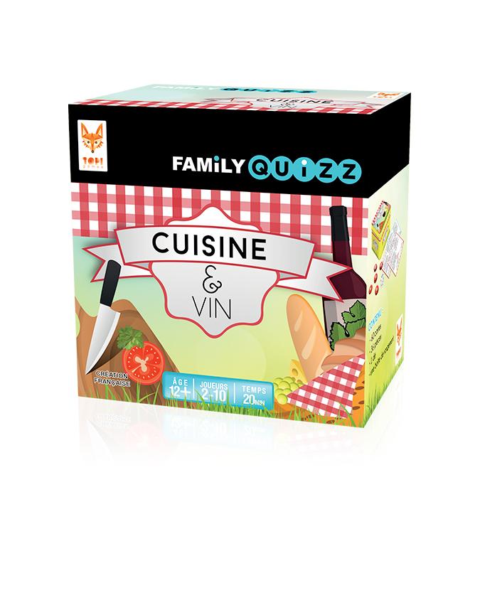 familly quizz – cuisine et vin | topi games